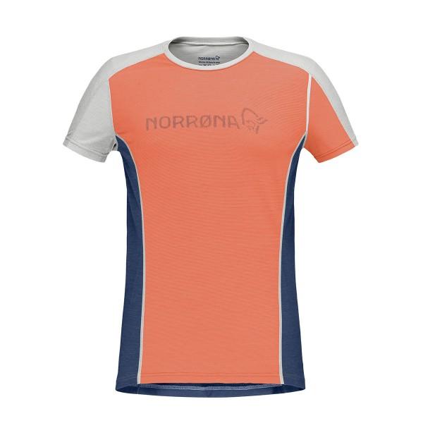Norrona equaliser merino T-Shirt wms flamingo 2020