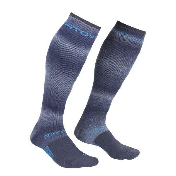 Ortovox Ski Stay or Go Socks night blue 20/21