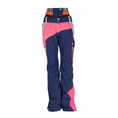 Picture Seen Pant wms grey/dark blue 16/17