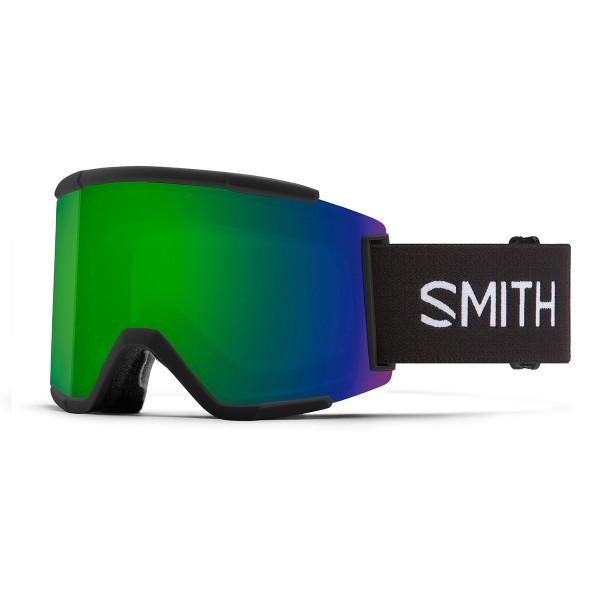 Smith Squad XL black / ChromaPop sun green mirror 20/21