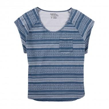 Burton Sandalwood Short Sleeve T-Shirt wms indigo 15/16