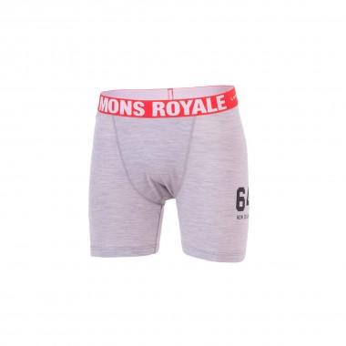 Mons Royale Boxer grey marl 15/16