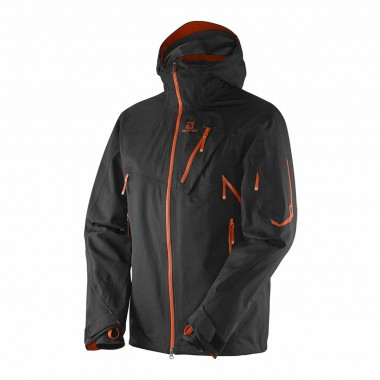 Salomon Foresight 3L Jacket black/orange 14/15