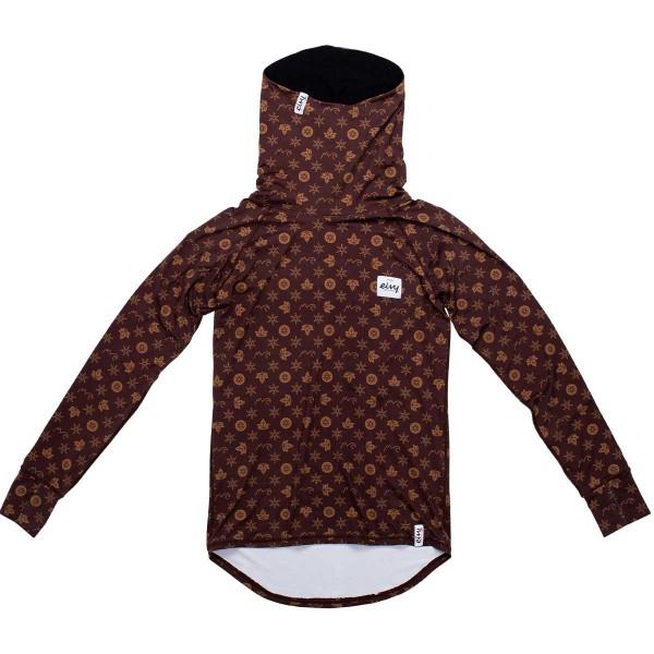 Eivy Icecold Winter Gaiter Top wms monogram brown 19/20