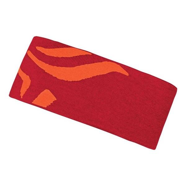 Norrona /29 mega logo Headband jester red 18/19
