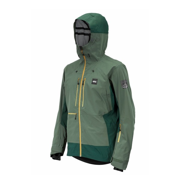 Picture Welcome Jacket lynchen green 20/21