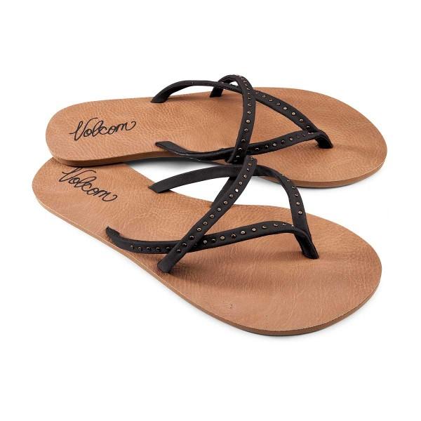 Volcom All Day Long Sandal wms black