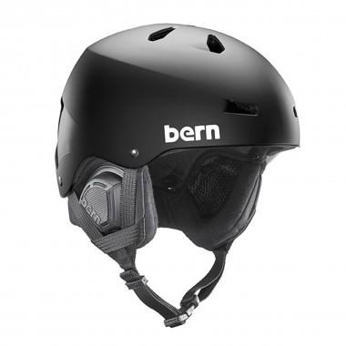 Bern Macon EPS mat black 15/16