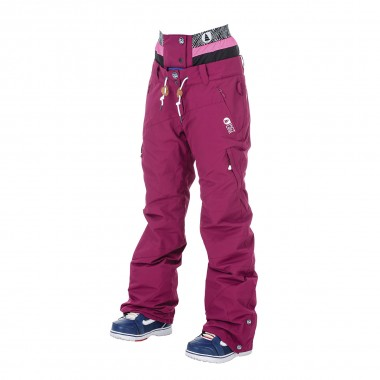 Picture Treva Pant wms burgundy 16/17