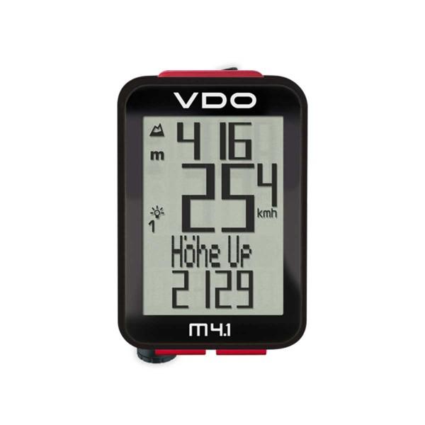 VDO M4.1 WL Bikecomputer drahtlos mit Höhenmessung