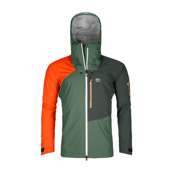 Ortovox Ortler 3L Jacket green forest 21/22