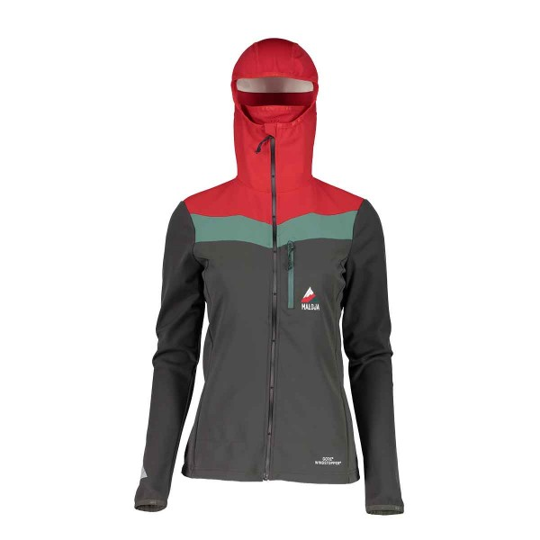 Maloja BilbaoM. Ski Mountaineering Jacket wms charcoal 17/18
