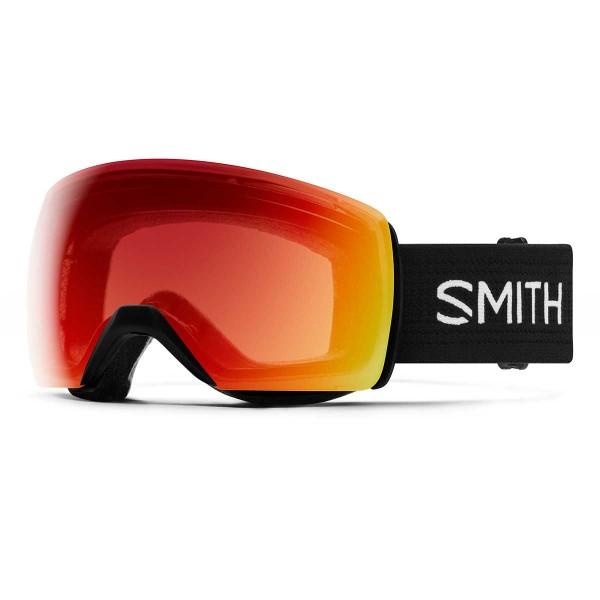 Smith Skyline XL black / ChromaPop Photochromic red mirror 19/20