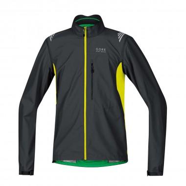 Gore Bike Wear Element Windstopper Active Shell Zipp-Off Jacke blk/neo ylw 16/17