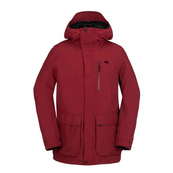 Volcom Utilitarian Jacket blood red 16/17
