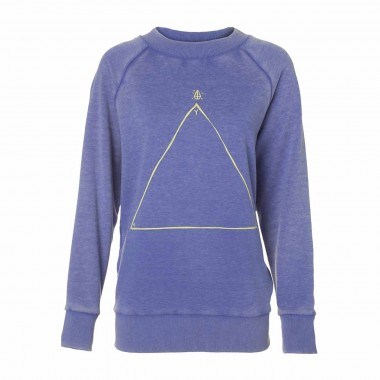 Volcom Get Stoned Crew Fleece wms vin blue 2014