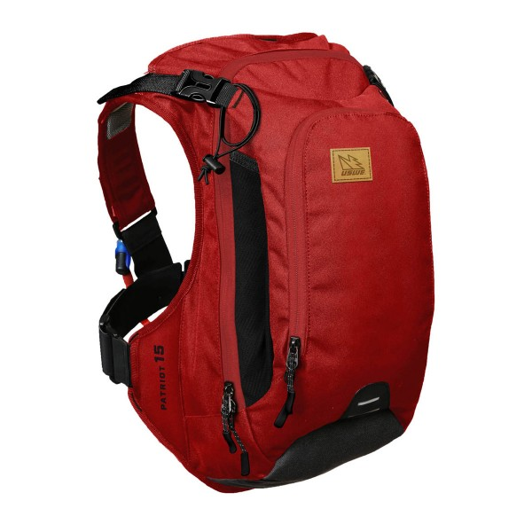 USWE Patriot 15 Protektor-/Trinkrucksack chilli red 2017