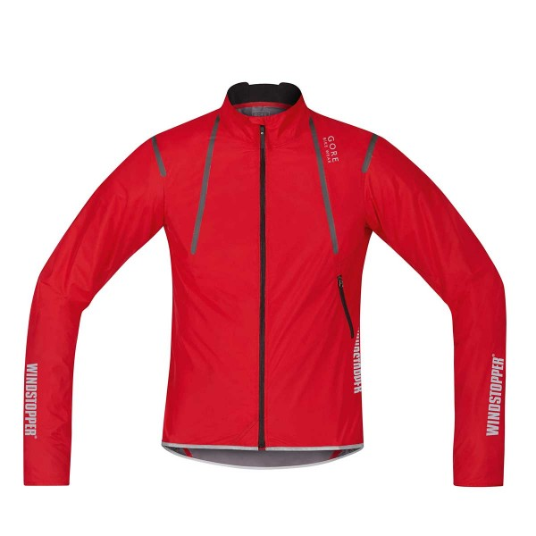 Gore Oxygen Windstopper Active Shell Light Jacke red