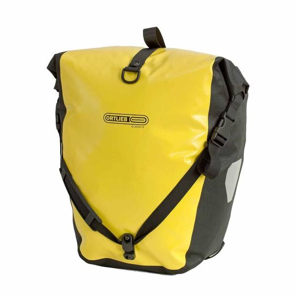Ortlieb Back Roller Classic Paar gelb/schwarz
