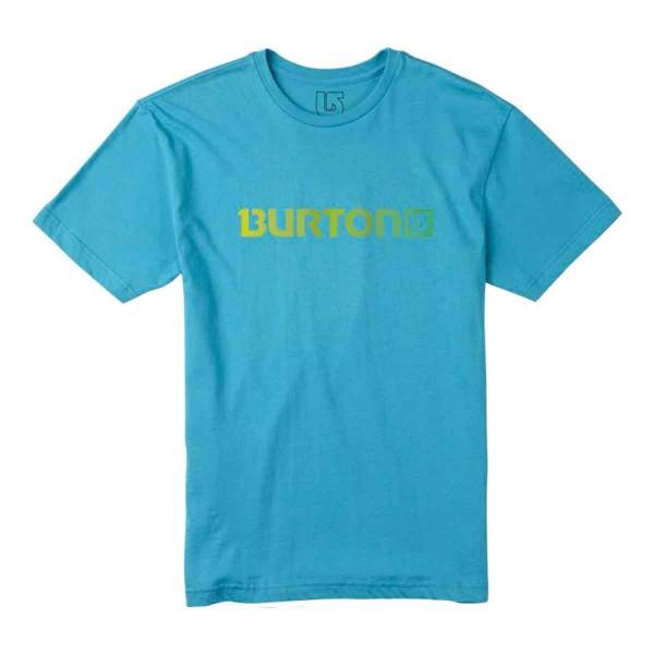Burton Logo Horizontal SS Tee turq 2016