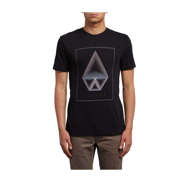 Volcom Concentric DD SS Tee black 2018