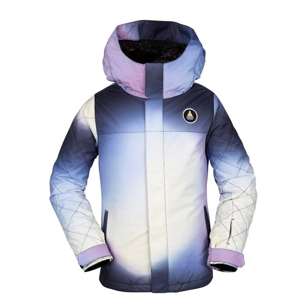 Volcom Sass'N'Fras Insulated Jacket kids white 19/20