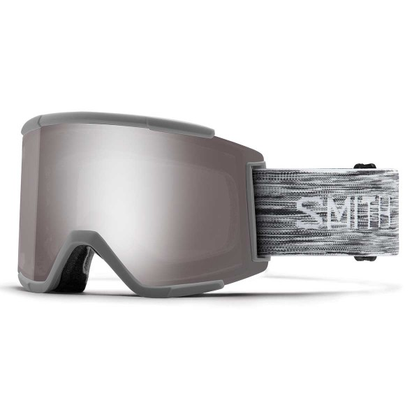 Smith Squad XL cloudgrey ChromaPop sun platinum mirror 18/19