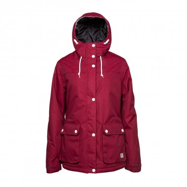 Colour Wear Ida Jacket wms burgundy 16/17