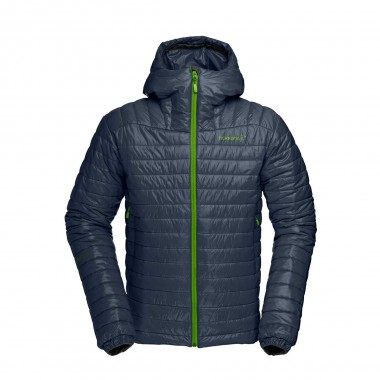 Norrona falketind PrimaLoft 100 Hood Jacket black 16/17