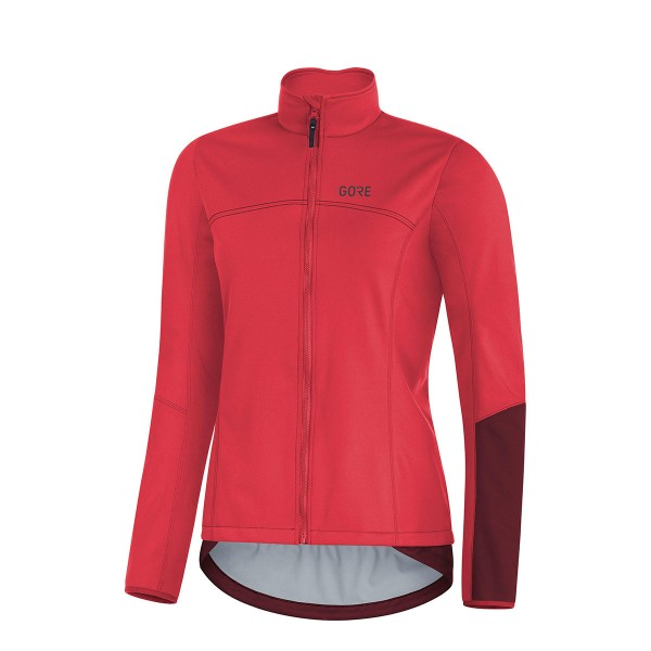 Gore Wear C5 Damen Gore Windstopper Thermo Jacket pink / red 20/21