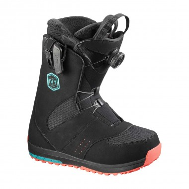 Salomon Ivy Boa SJ wms black/teal 16/17