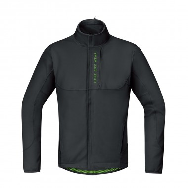 Gore Power Trail Windstopper Softshell Thermo Jacke black 16/17