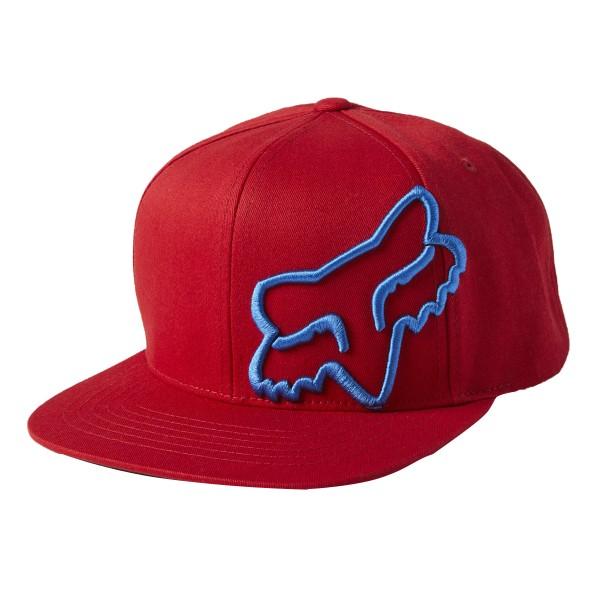 Fox Racing Headers Snapback Hat red 2021