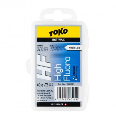 Toko HF Hot Wax Blue 40g 15/16