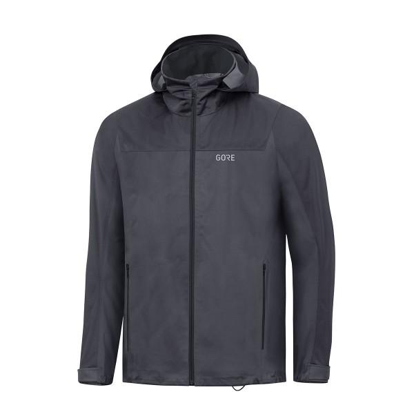 Gore Wear R3 Gore-Tex Active Hooded Jacket terra grey / black 20/21