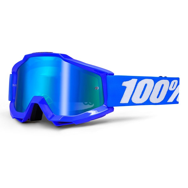 100% Accuri anti fog mirror reflex blue 2018