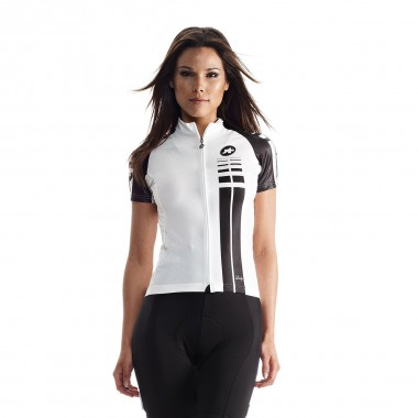 Assos Lady SS Jersey wms white panther 2015
