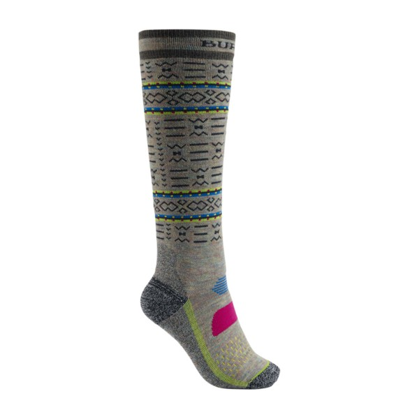 Burton Performance Midweight Sock wms oatmeal heather 18/19