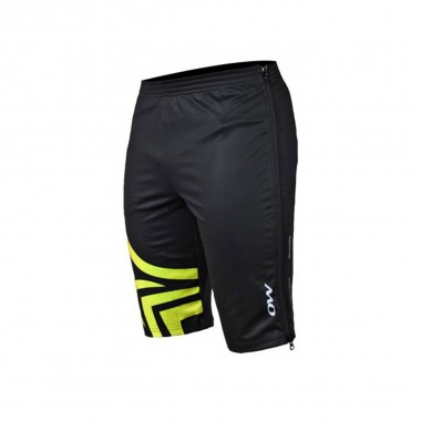One Way Awesome Kick Short Pant black/yellow 14/15