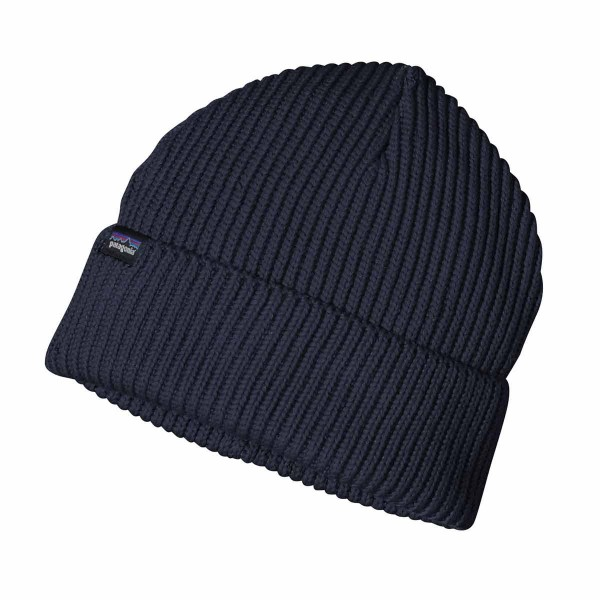Patagonia Fishermans Rolled Beanie navy blue 21/22