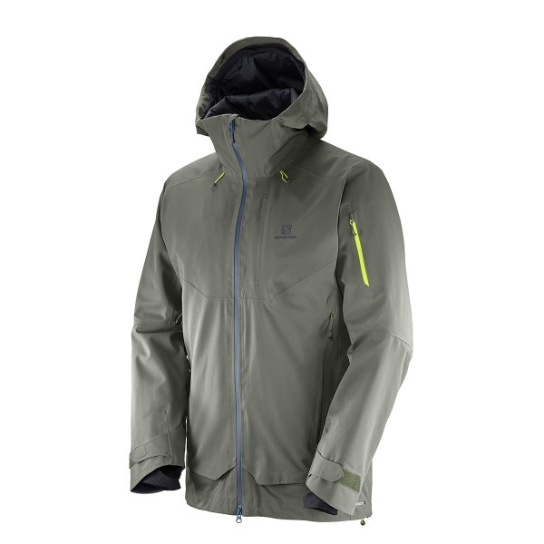 Salomon QST Guard Jacket beluga 17/18