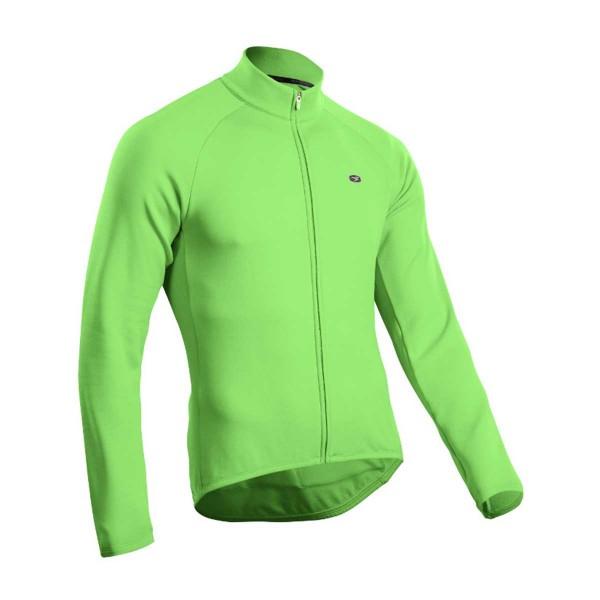 Sugoi Classic LS Jersey green