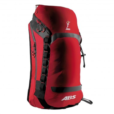 ABS Vario 25 Zip on Bag [red/grey] 13/14