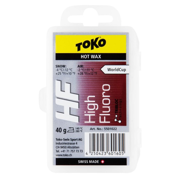 Toko HF Hot Wax 40g red