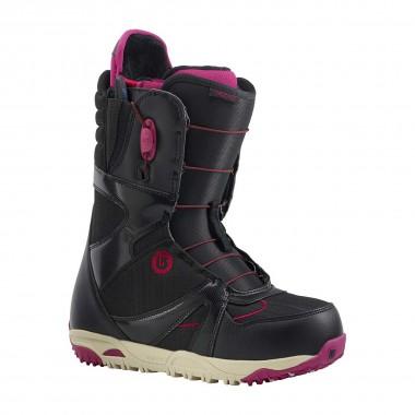Burton Emerald Snowboard Boot wms blk/burgdy/cream 14/15