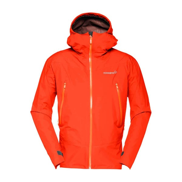 Norrona falketind Gore-Tex Jacket hot chili 2017