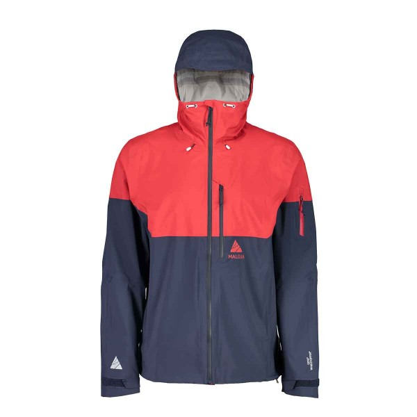 Maloja KanataM. Ski Mountainerring Jacket red poppy