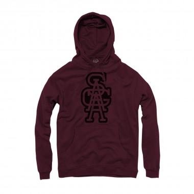 Saga Outerwear Academics Graphic Pullover maroon 15/16