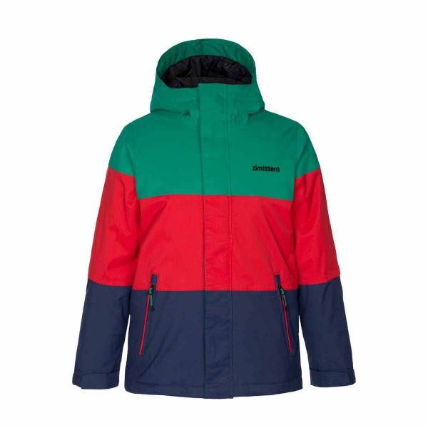 Zimtstern Bloc Snow Jacket boys emerald