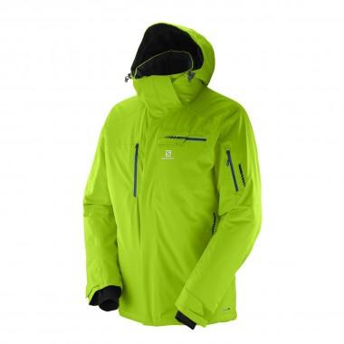 Salomon Brilliant Jacket granny green 16/17